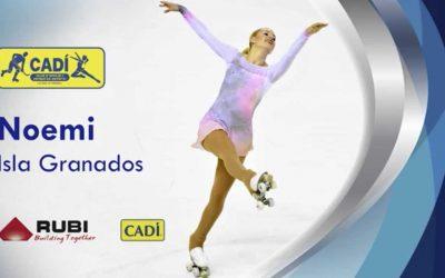 Entrevista a Noemi Isla Granados, patinadora internacional del nostre Club Hoquei Cadí Patinatge Artístic
