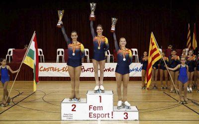Noemí Isla, medalla de bronze al Campionat d'Espanya Sènior