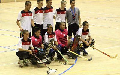 Quatre jugadors del CHPA CADÍ amb la selecció de Lleida, tercera  classificada en el Campionat de Catalunya.