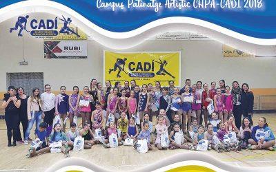 Campus de tecnificació de Patinatge Artístic 2018 del CHPA CADÍ-LA SEU D'URGELL