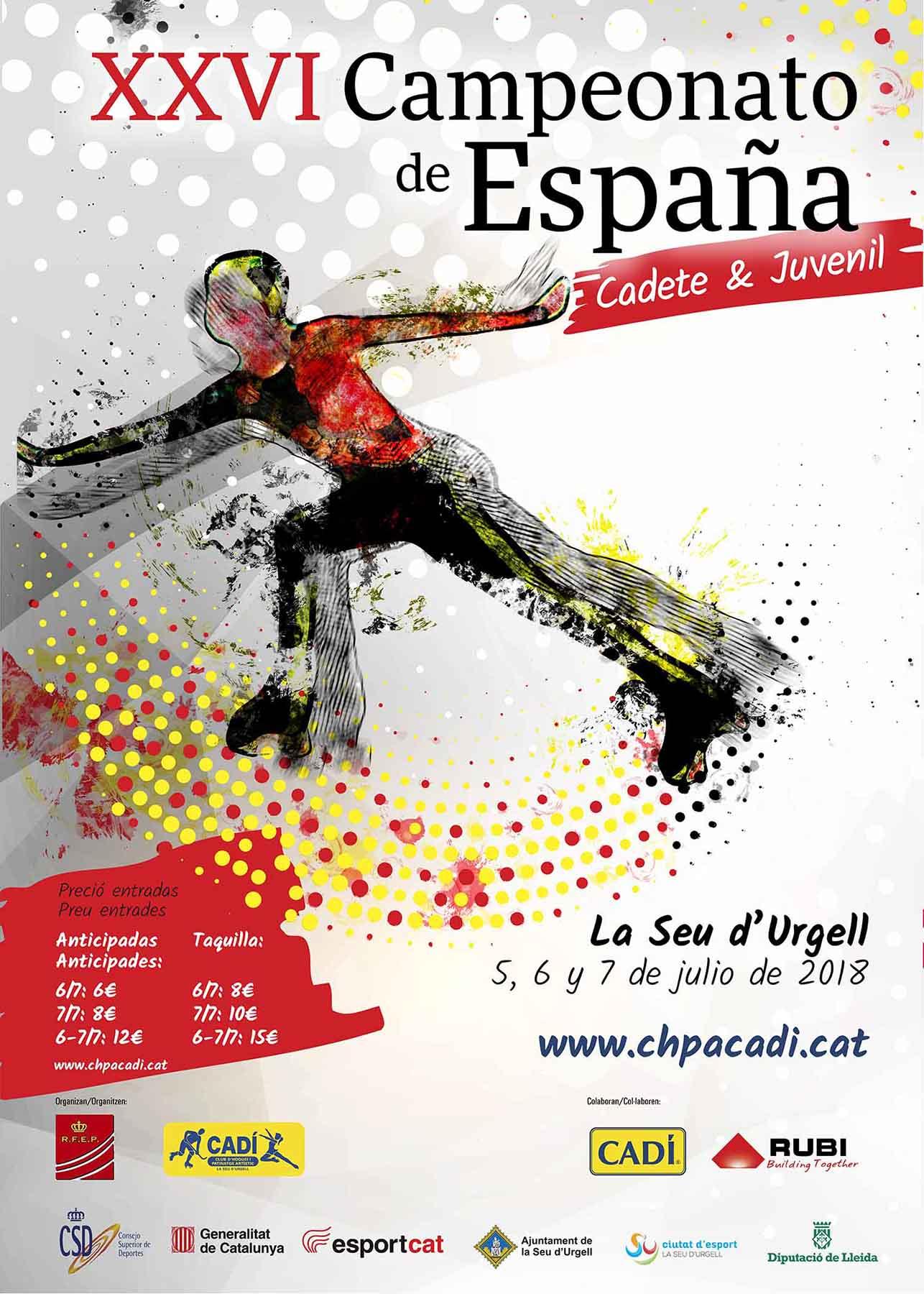 cartell campionat d'espanya