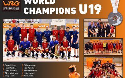 Jordi Pons, campió del Món U19 d'hoquei