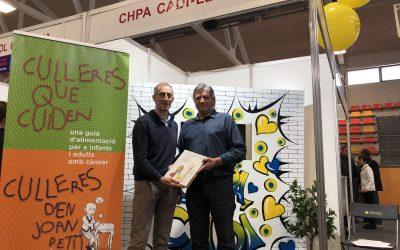 Visita de Joan Torner president Fundació «Joan Petit Nens amb Càncer»
