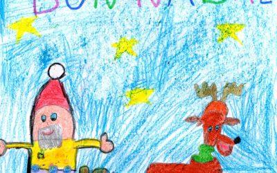 Guanyadors concurs de dibuix de Nadal i instagram