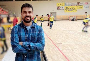 Entrevista a Roger Corral, coordinador i entrenador del primer equip d'hoquei