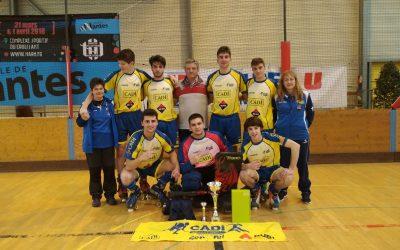 L'equip juvenil del CHPA CADÍ campió a Nantes